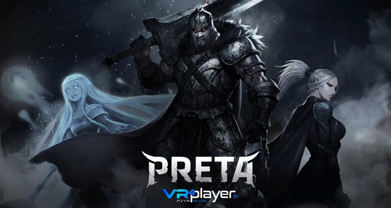 PRETA Vendetta Rising Illion Corp PlayStation VR PSVR