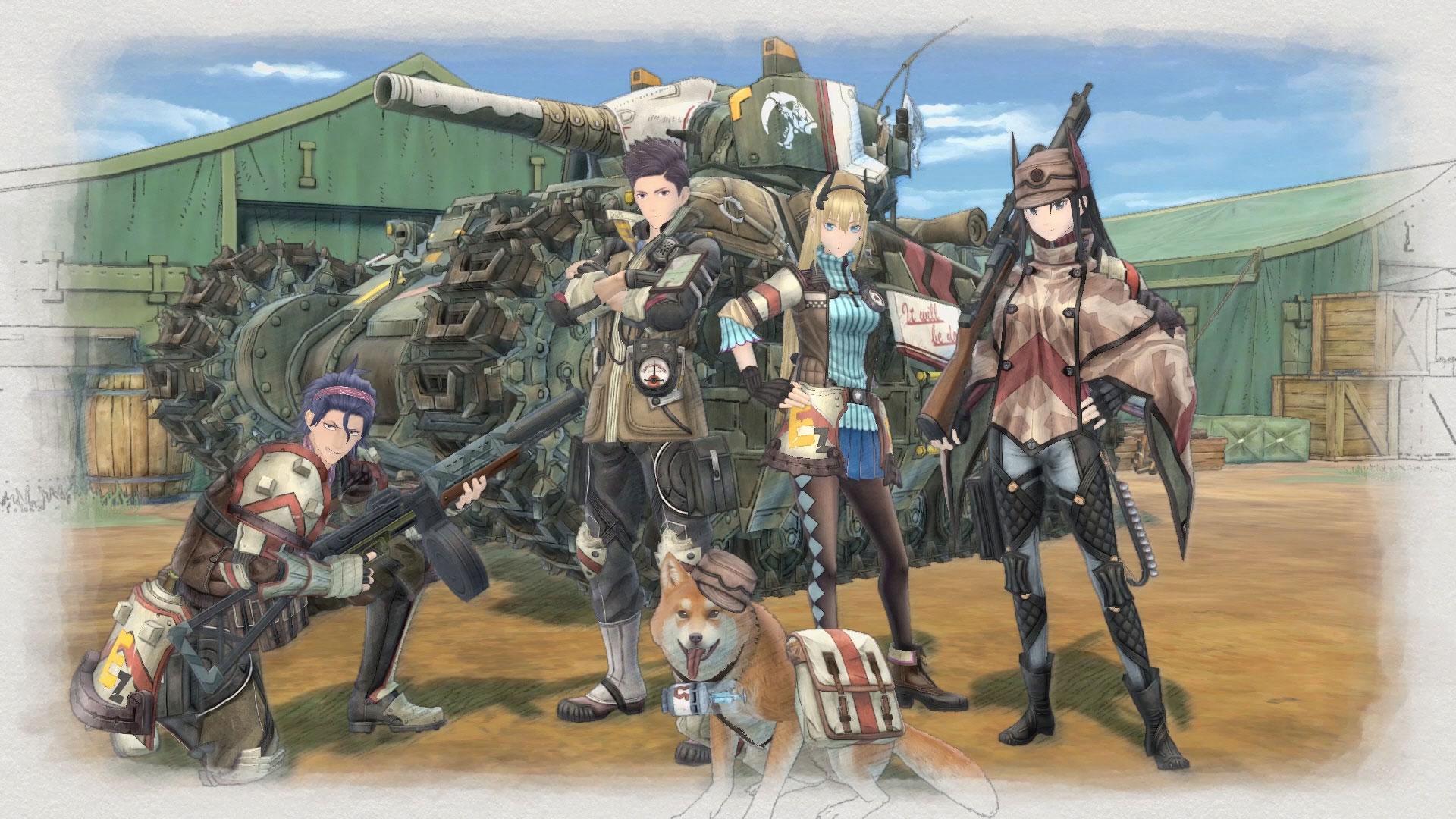 Valkyria Chronicles 4 en précommande sur PS4 vrplayer.fr