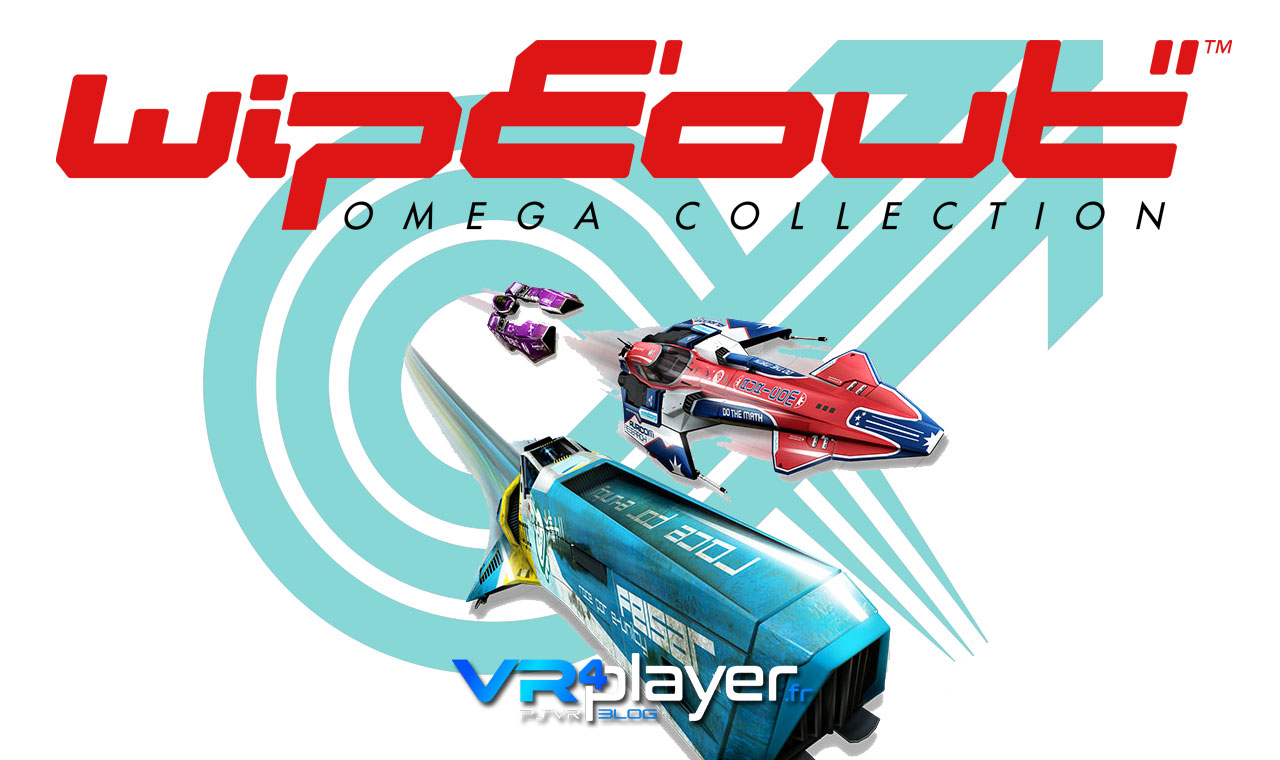WipEout Omega Collection PSVR vrplayer.fr