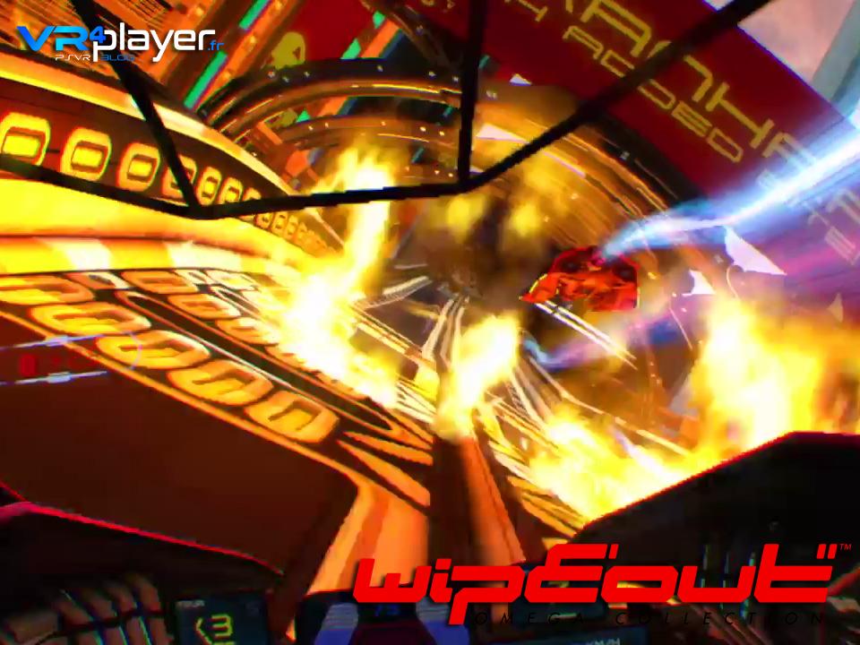 WipEout Omega Collection en VR sur PSVR, le test vrplayer.fr