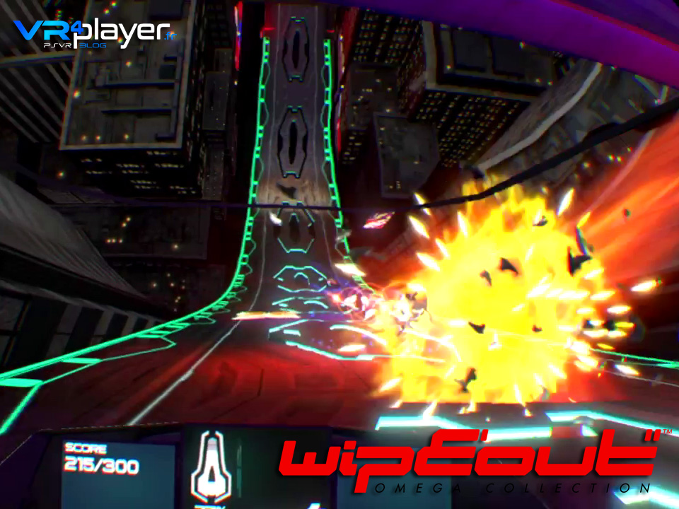 WipEout Omega Collection sur PSVR, le test vrplayer.fr