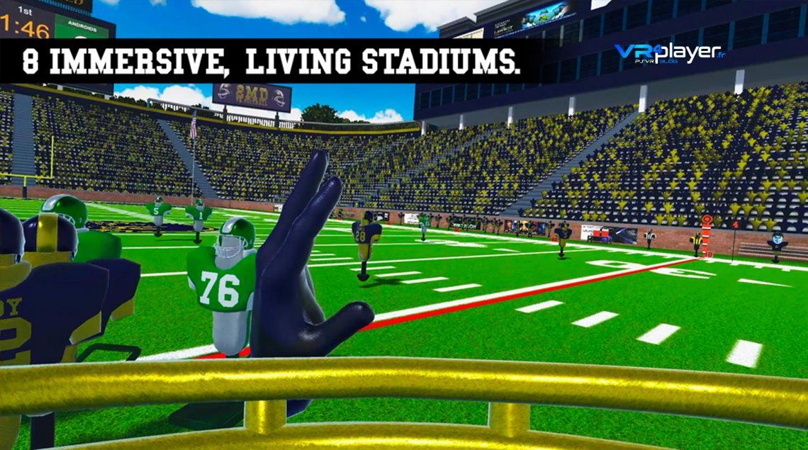 2MD VR Football sur PSVR