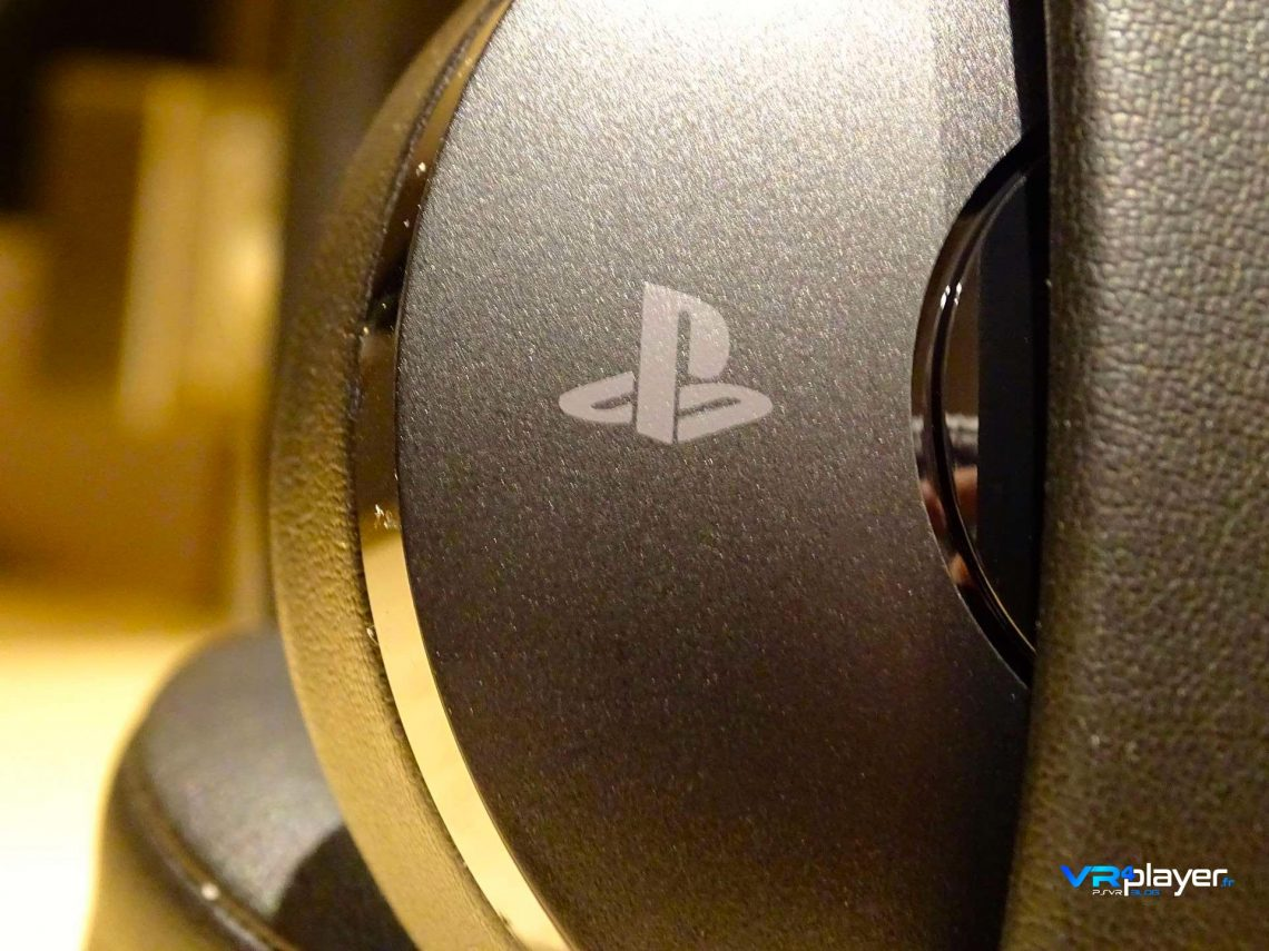 Casque Sony PS4 Gold