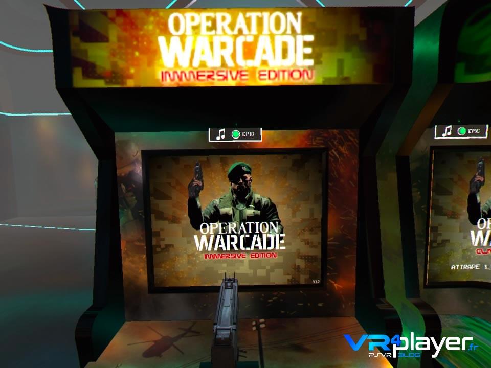 Operation Warcade sur PSVR