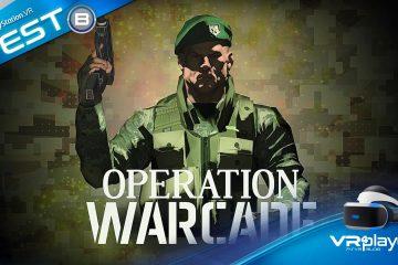PlayStation VR : Operation Warcade le jeu d'arcade testé sur PSVR