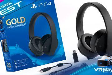 PlayStation VR : Test du Casque Sony PS4 Gold, un atout pour le PSVR ?