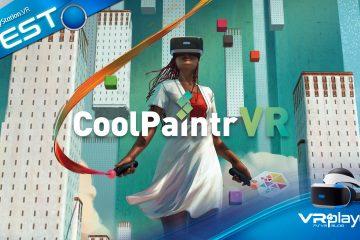 PlayStation VR : CoolPaintR VR, une nouvelle dimension à votre créativité sur PSVR