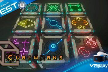 CubeWorks sur Playstation VR – Le test carré de VR4player