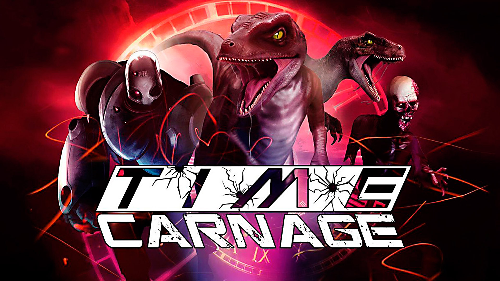 Time Carnage sur PlayStation VR VR4player