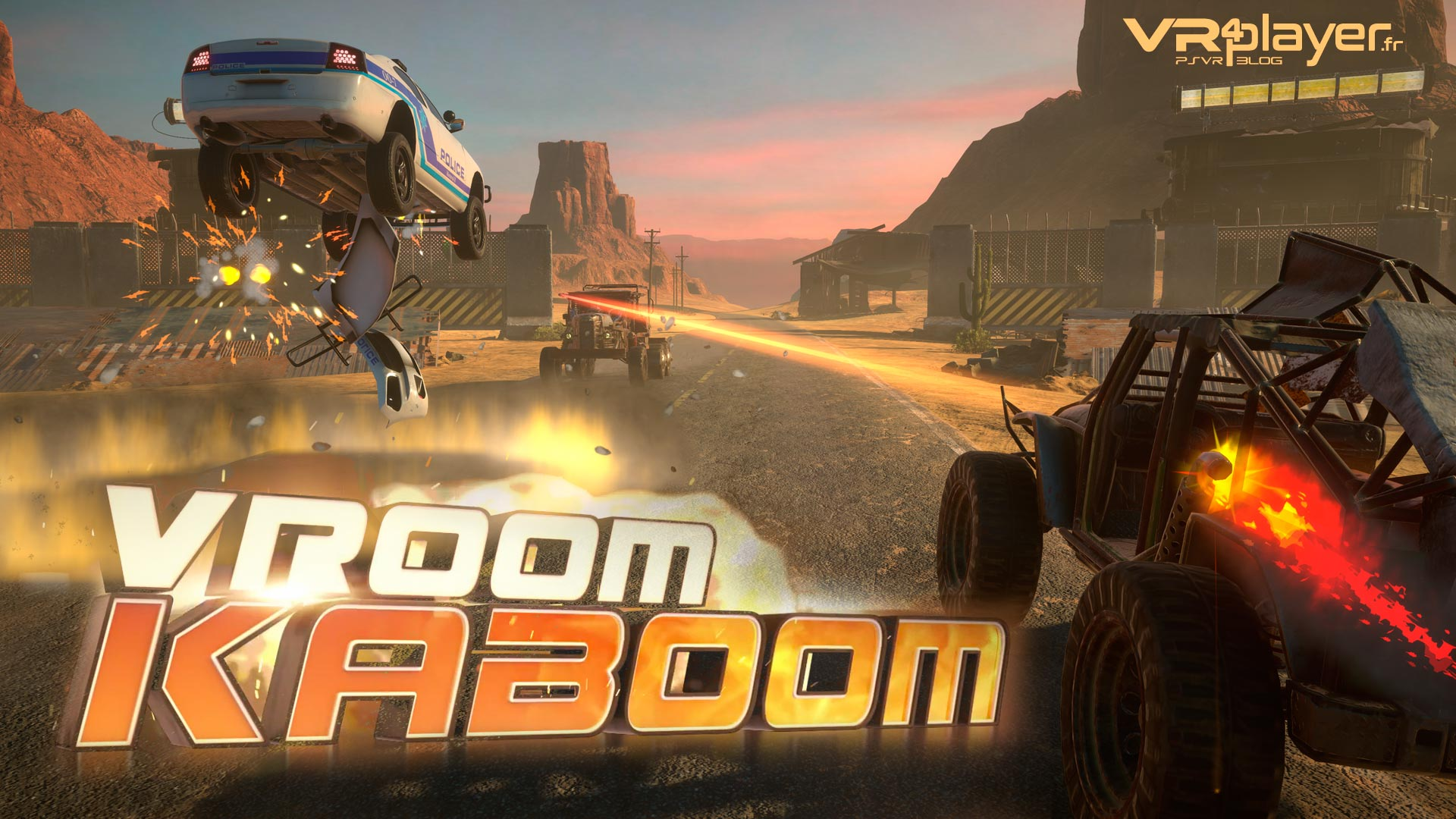 Vroom Kaboom PlayStation VR VR4player