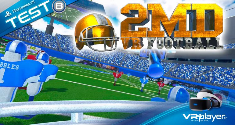 2MD VR Football Test Review VR4player
