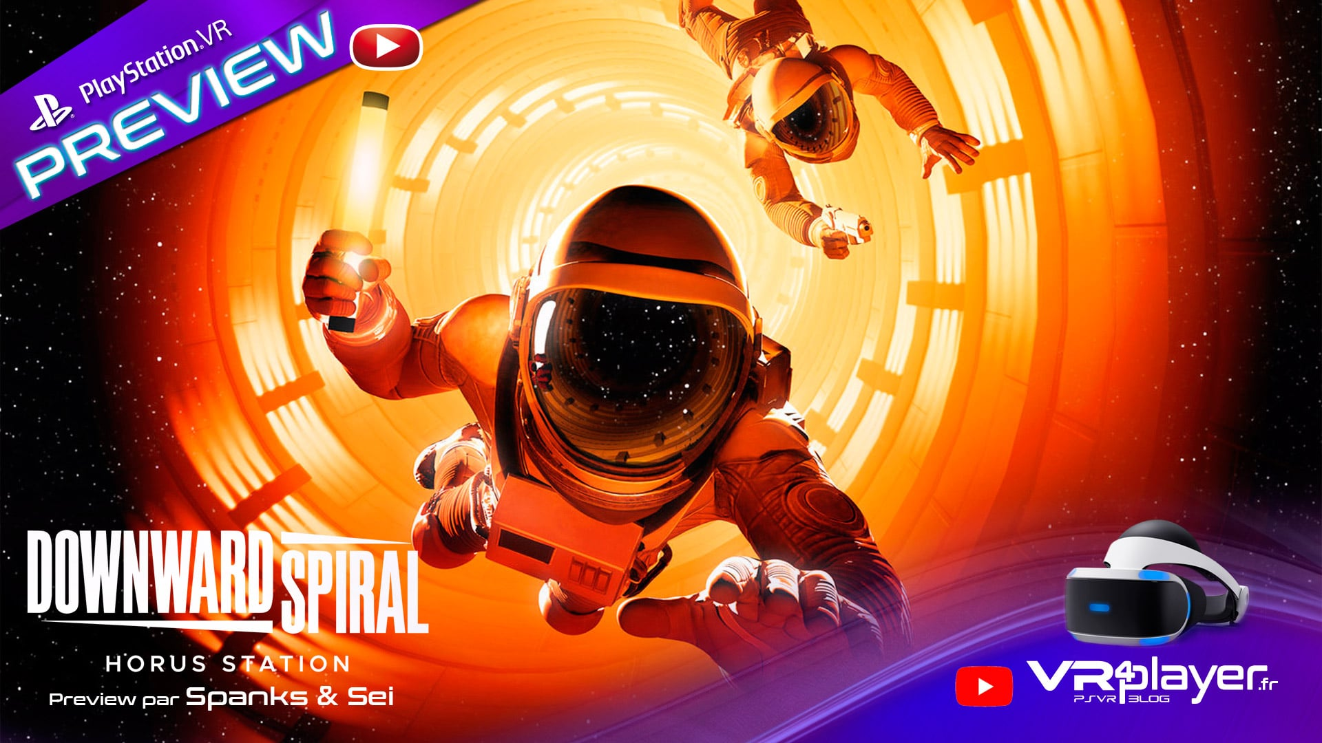 Downward Spiral Preview Prochainement sur PlayStation VR