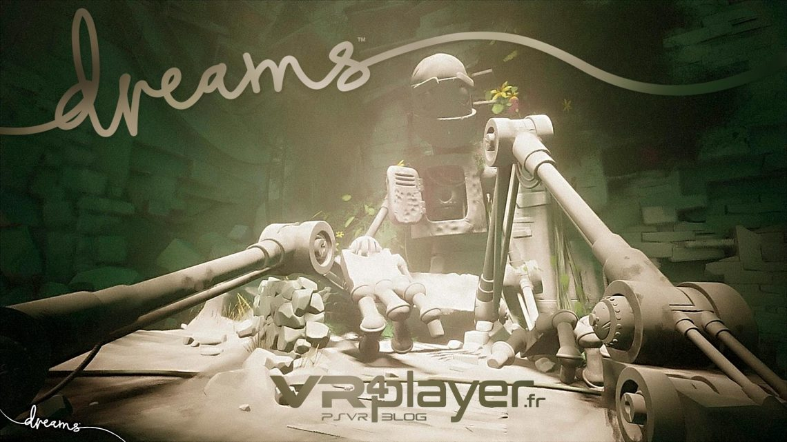Dreams PlayStation VR VR4player