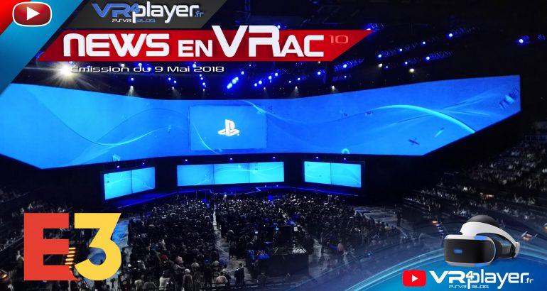 PlayStation VR News en VRac L'actu vidéo VR4player