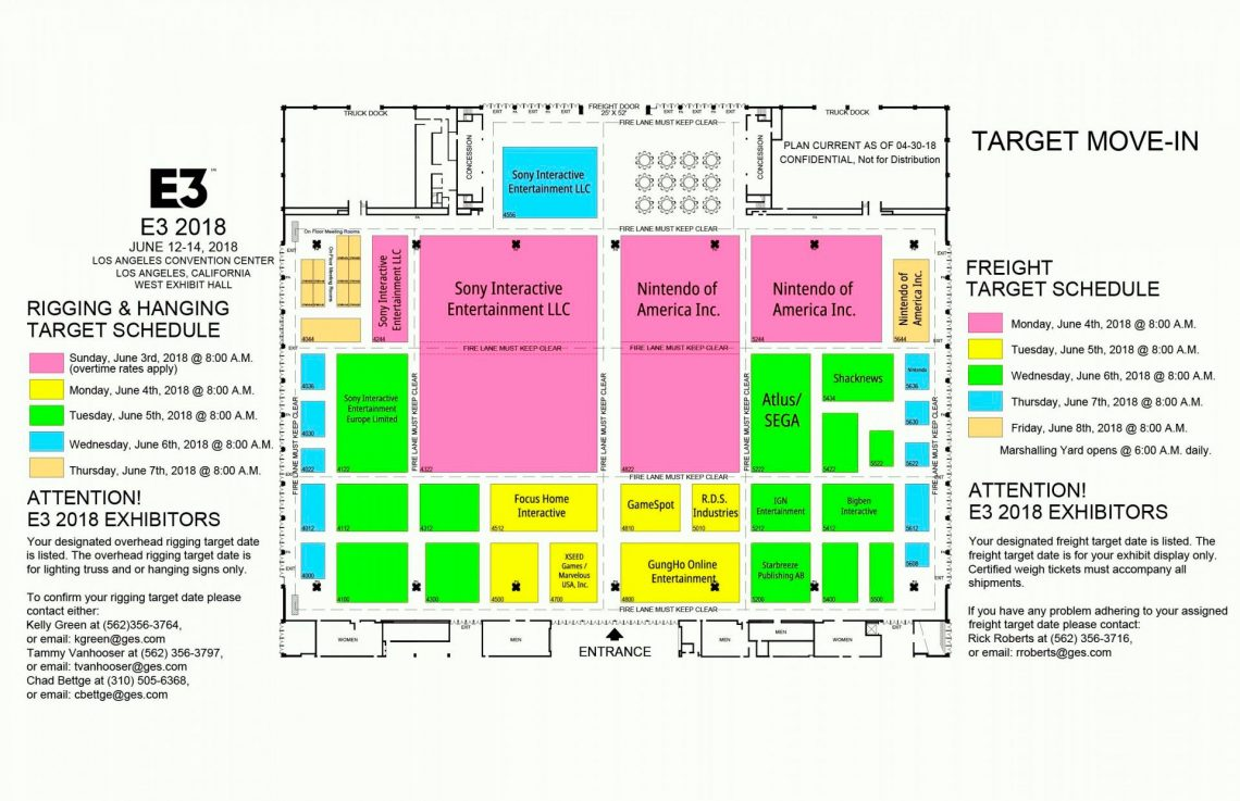 E3 plans 2018 VR4player