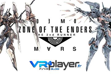 PS4, PlayStation VR : ZONE OF THE ENDERS accessible en démo sur PSVR !