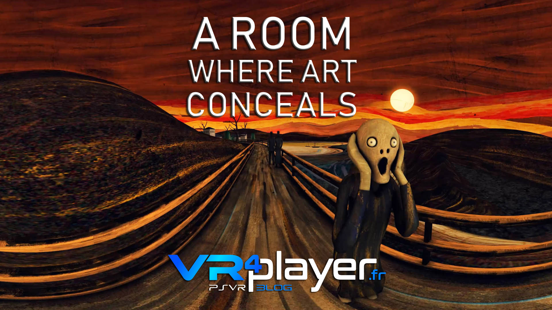 A ROOM WHERE ART CONCEALS PSVR VR4player.fr