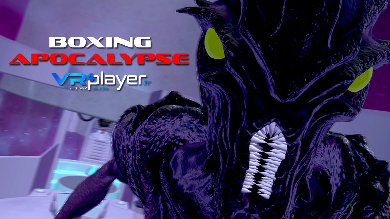 Boxing Apocalypse sur PSVR vrplayer.fr