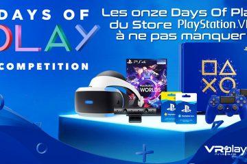 PS4, PlayStation VR : Les Days Of Play relancent les soldes avant l'E3