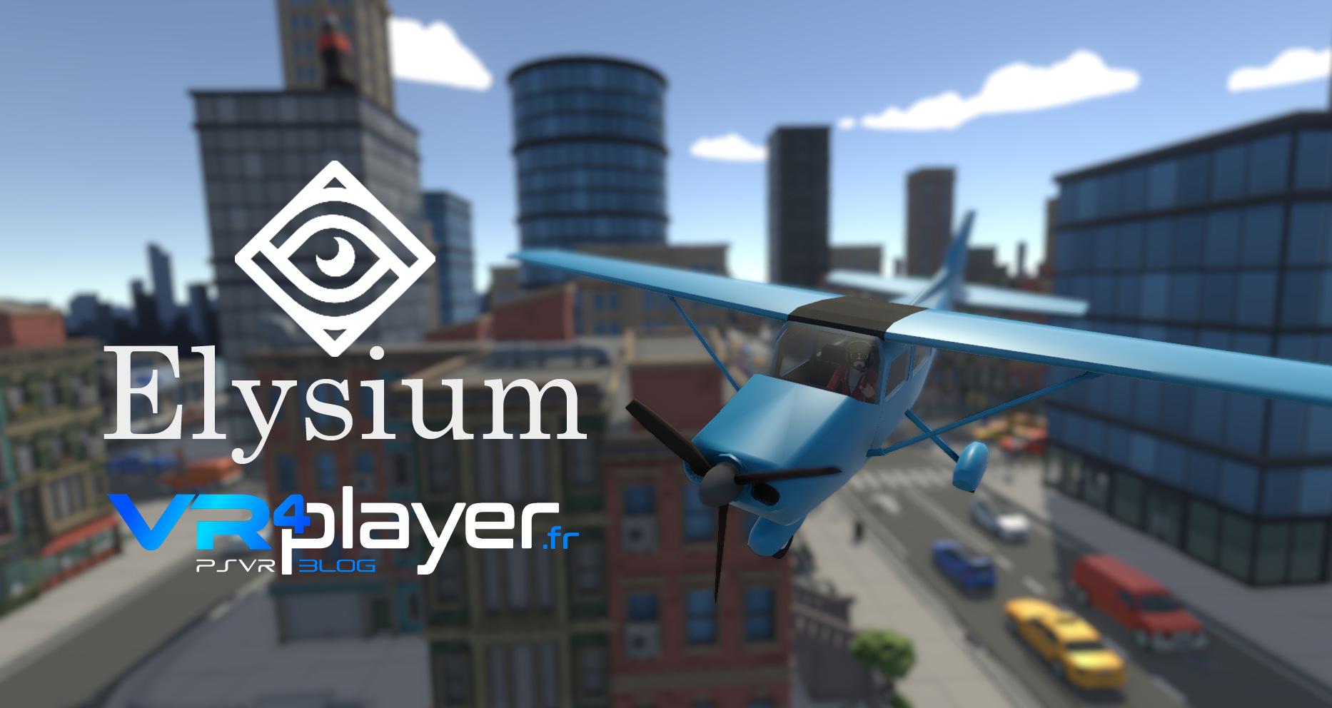 Elysium VR PSVR vrplayer.fr