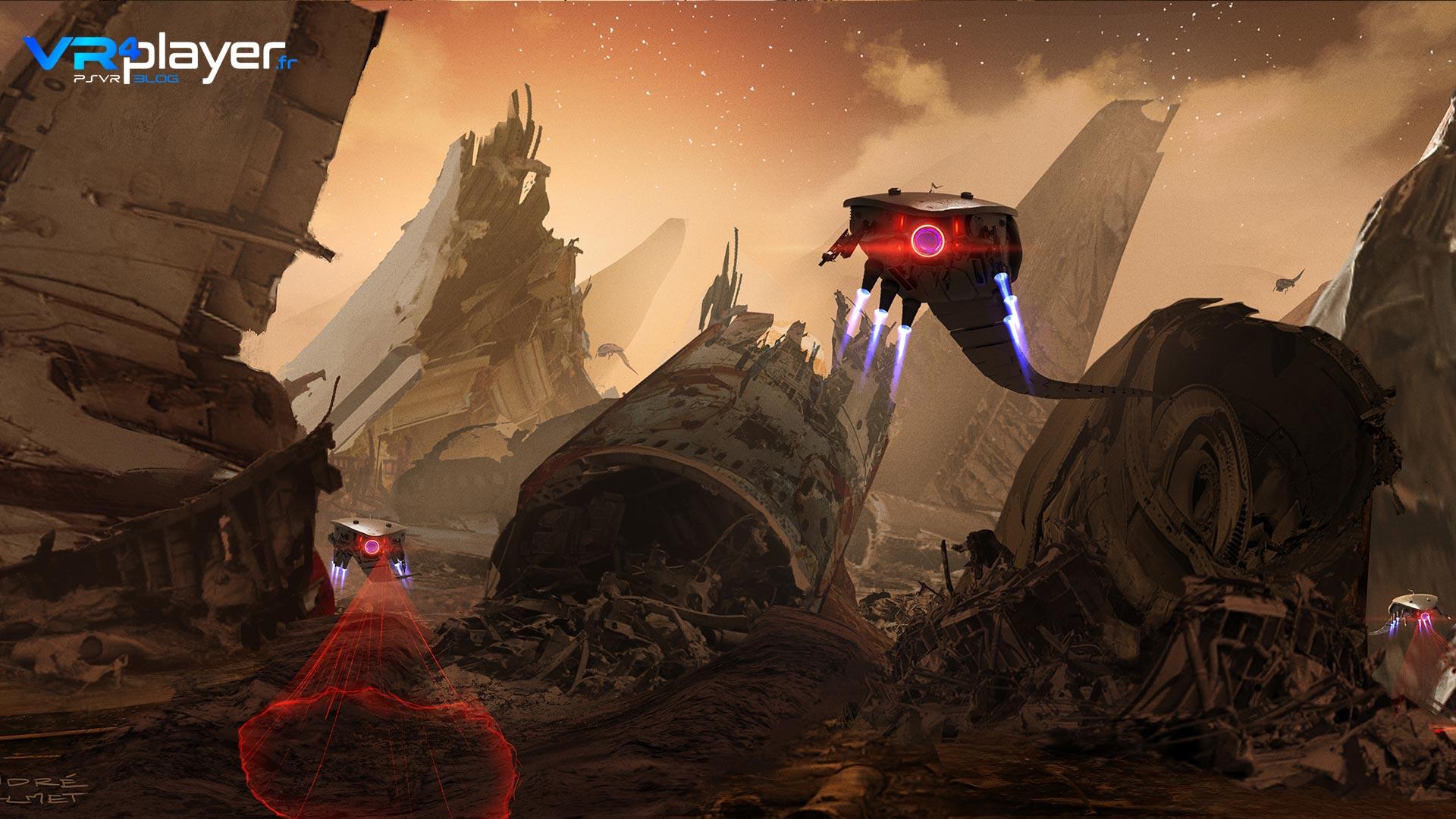 Farpoint en VR sur PSVR