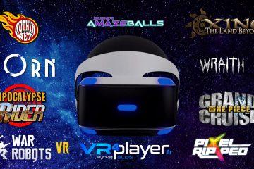 PlayStation VR : les jeux prévus sur PSVR avant l'E3