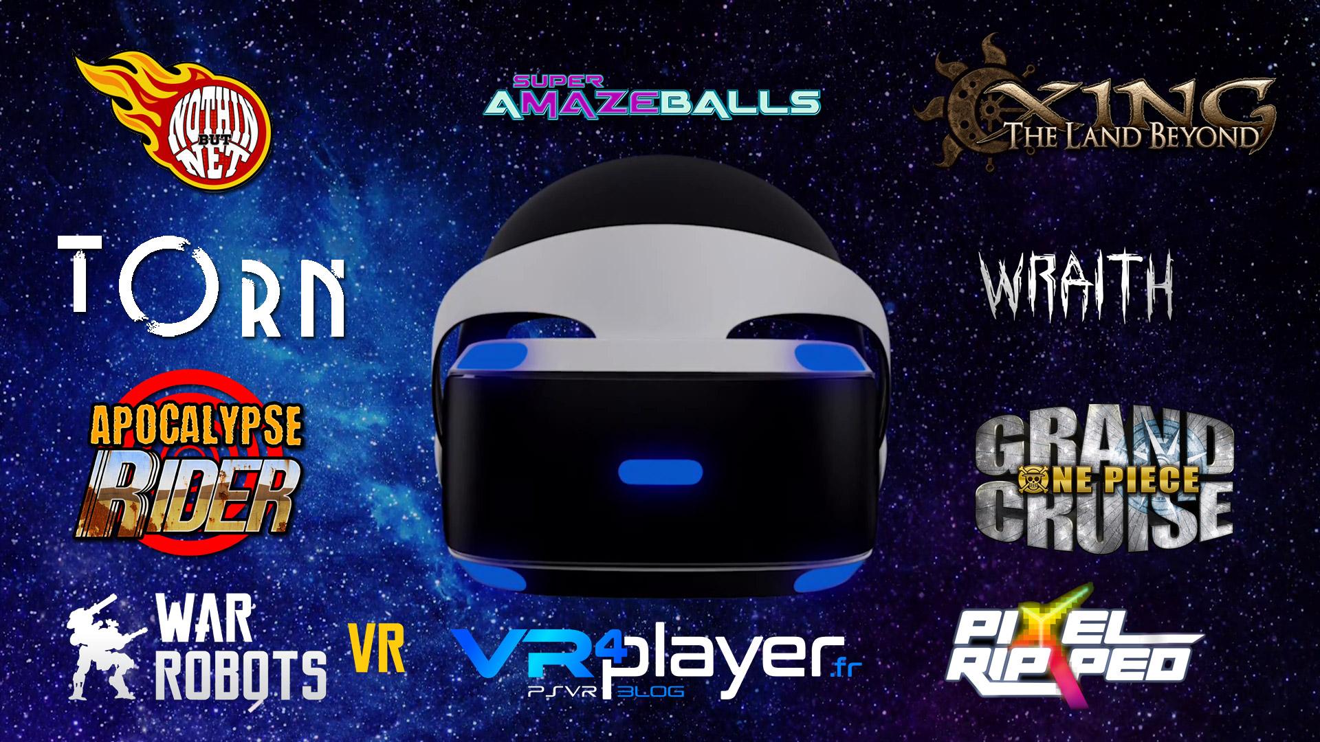 les jeux PSVR prévus avant l'E3 vr4player.fr