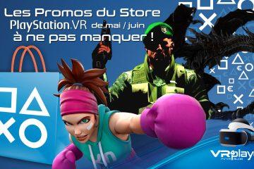 PlayStation VR : les promotions de mai et juin à ne pas louper