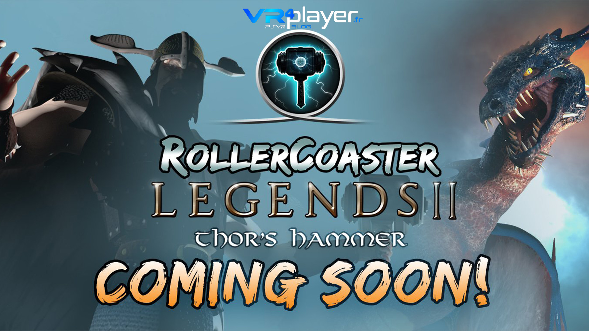 Rollercoaster Legends 2 Thor's Hammer