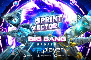 PlayStation VR :  La Big Bang update pour Sprint Vector