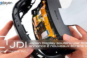 PlayStation VR : JDI soutenu par Sony, annonce 2 nouveaux écrans VR !