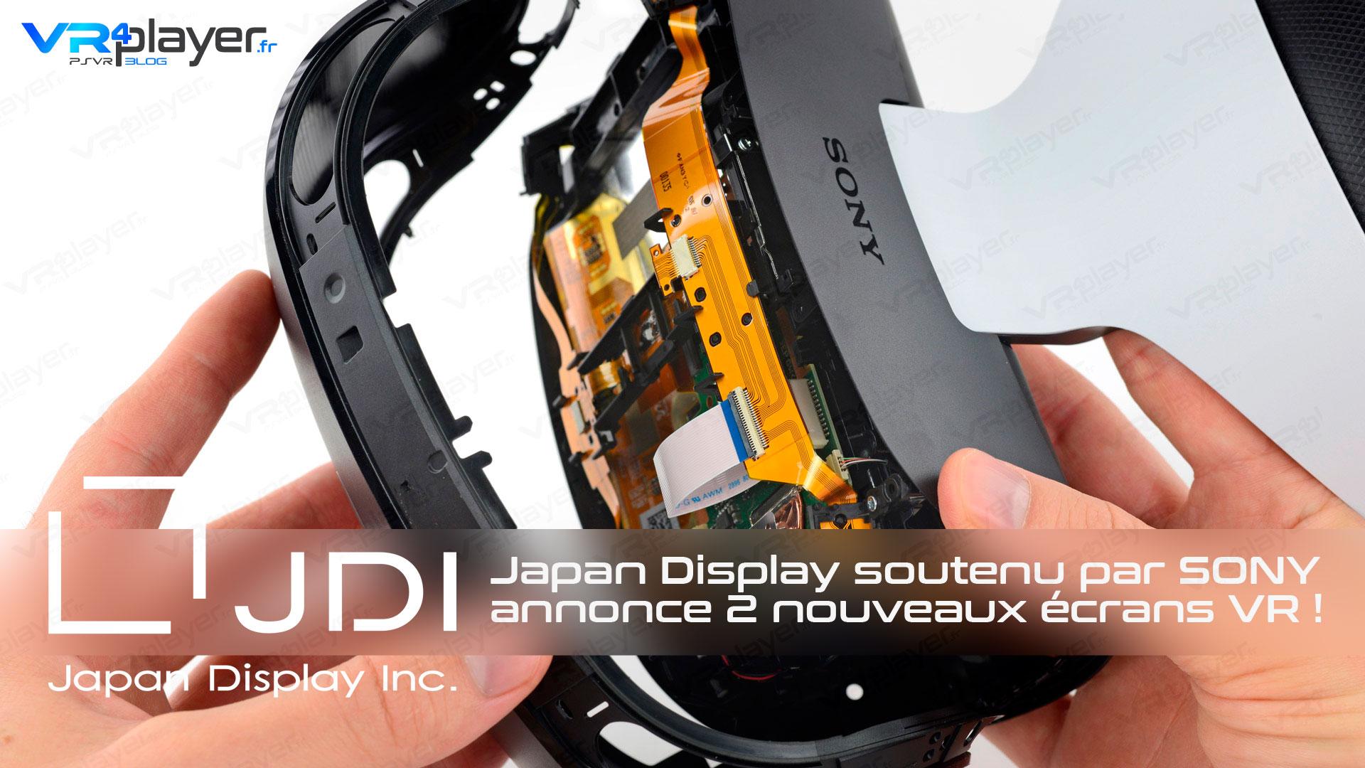 Japan Display Écrans PSVR VR4Player PlayStation VR