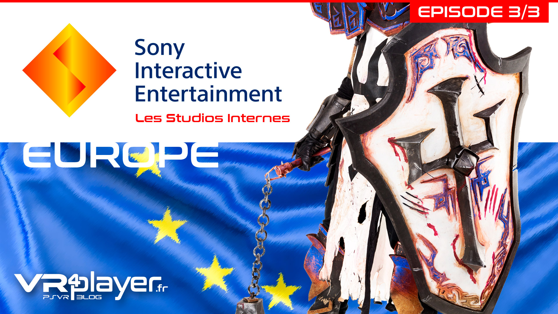 Sony, les studios Europe VR4player.