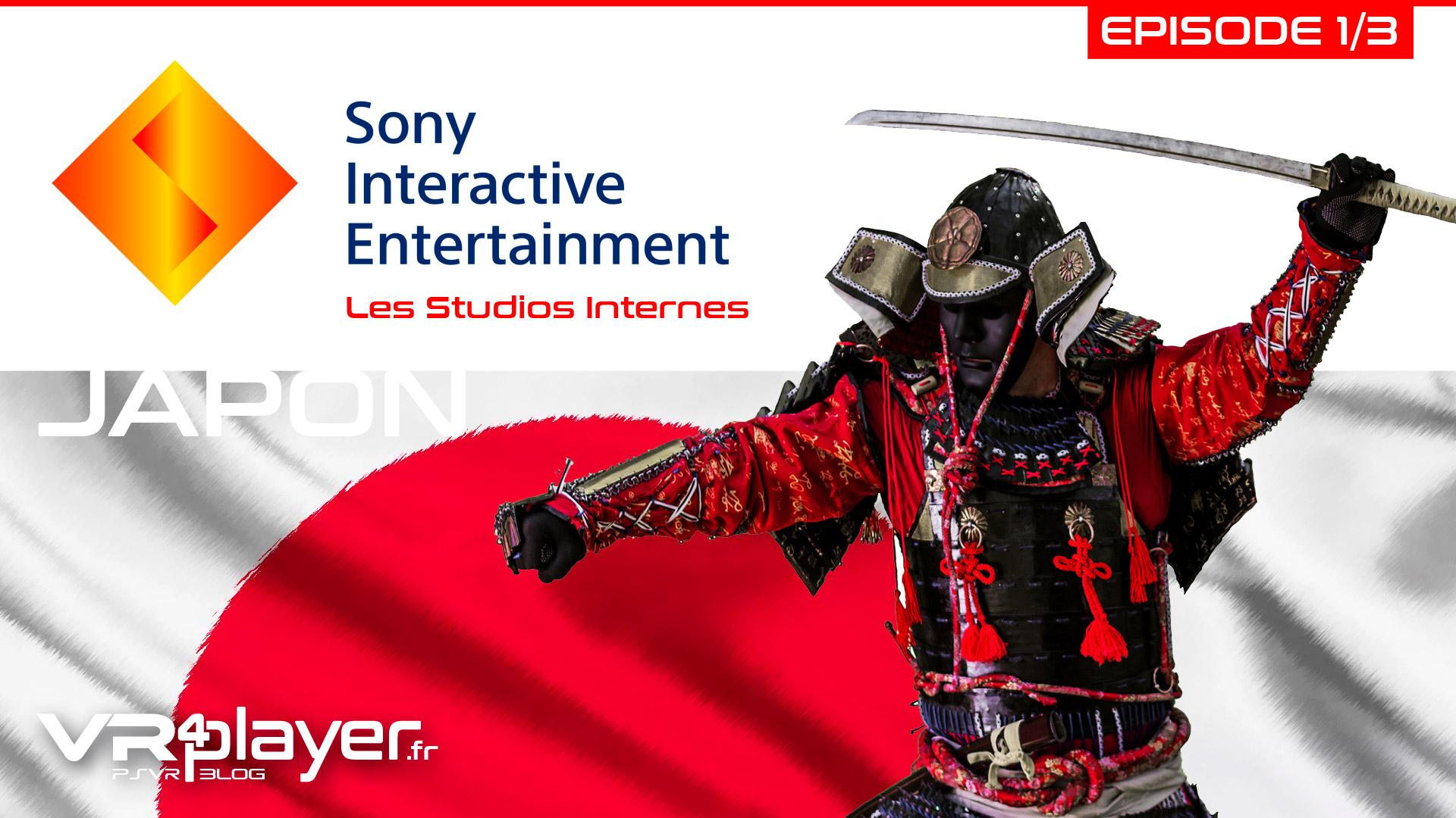 Sony, les studios japonais VR4player.