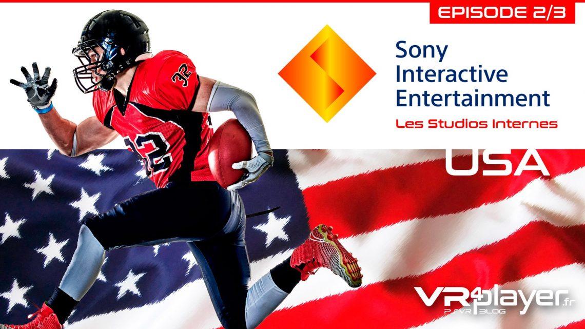Sony, les studios américains VR4player.