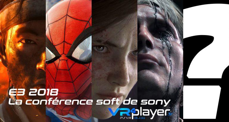 la conférence E3 de Sony vr4player.fr