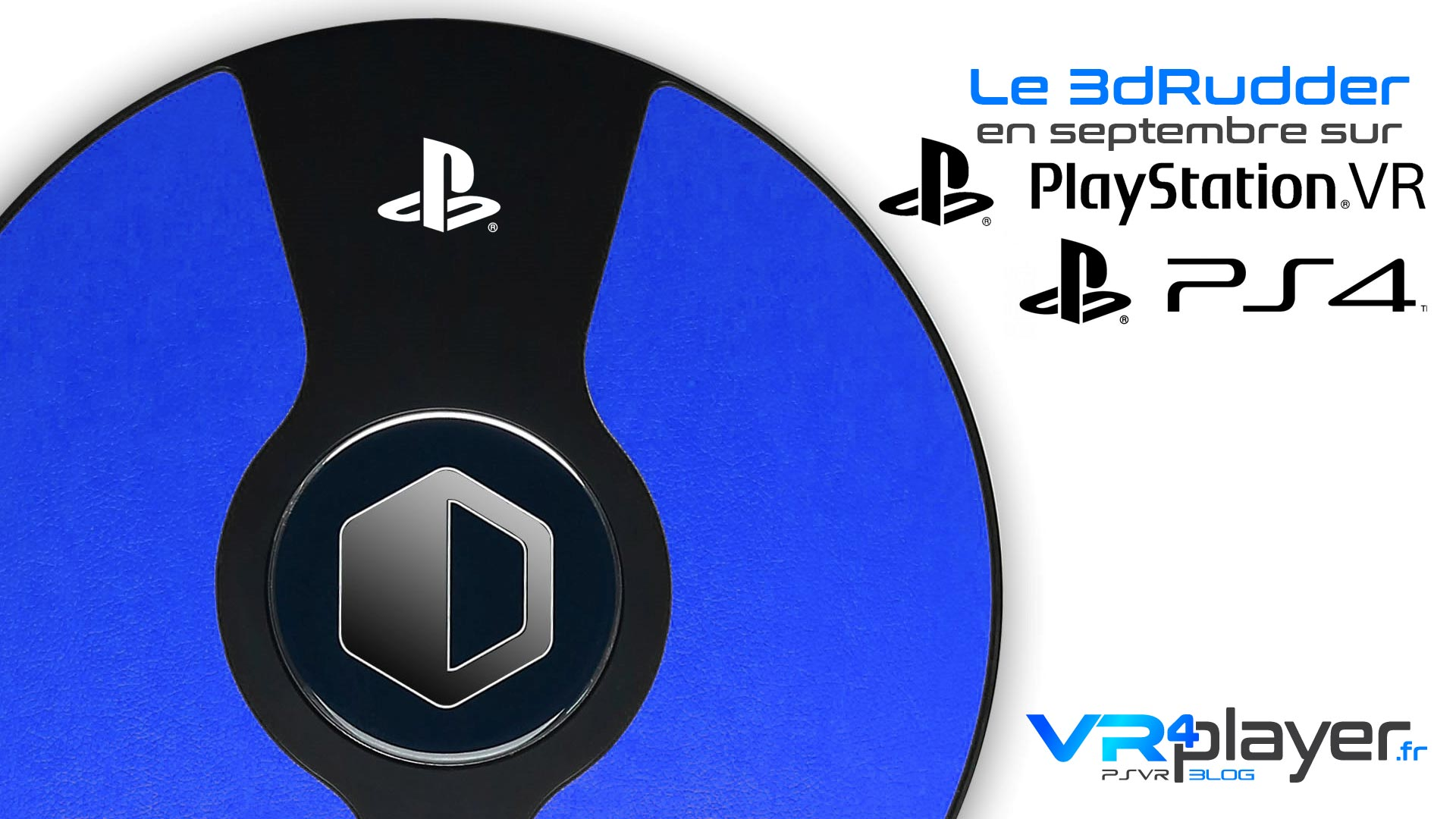 3dRudder PLayStation VR ps4 VR4Player