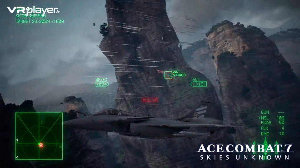 Ace Combat 7 PlayStation VR, PSVR VR4player.fr PlayStation VR