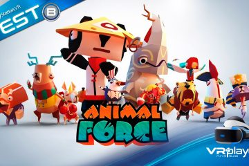 PlayStation VR : Animal Force, les zanimos super héros sur PSVR en Test