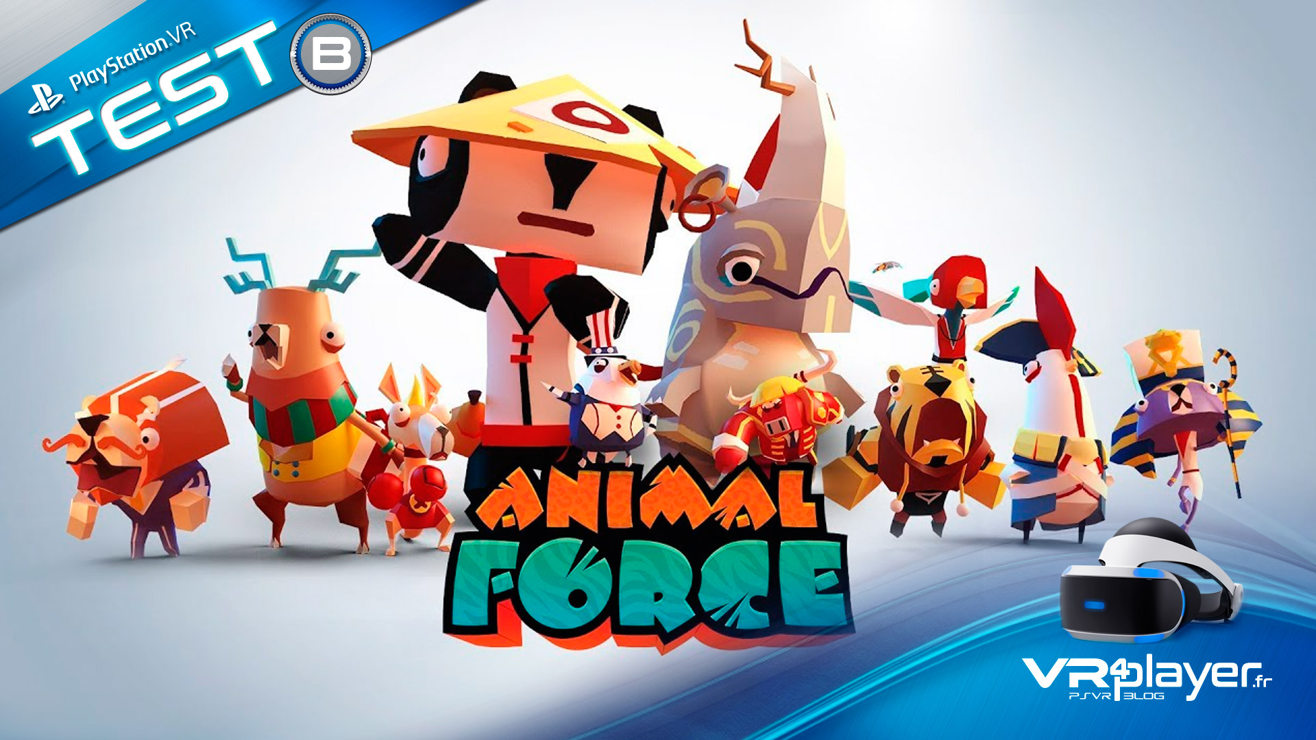Animal Force Test Review VR4player PlayStation VR