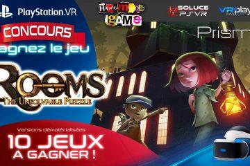 Concours PlayStation VR : 10 jeux Rooms The Unsolvable Puzzle PSVR à gagner !