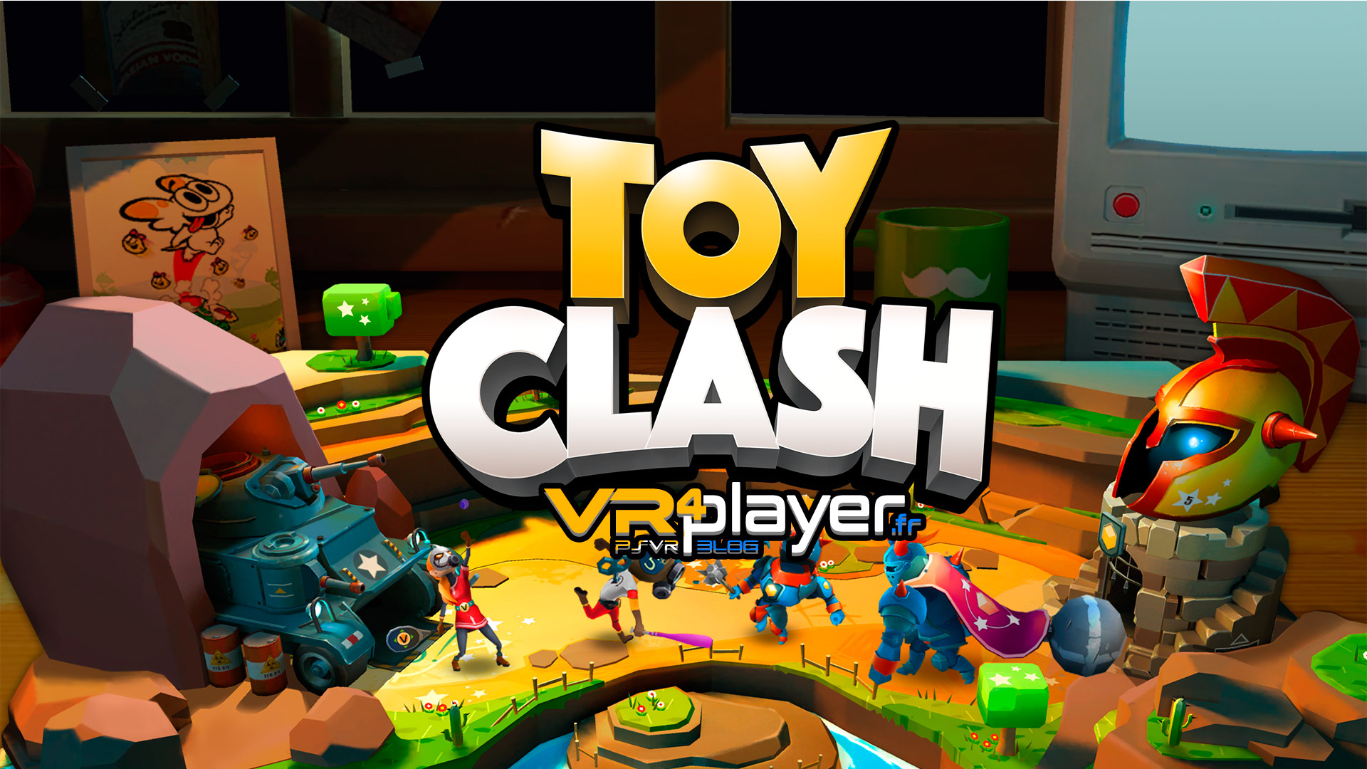 Toy Clash PlayStation VR VR4player