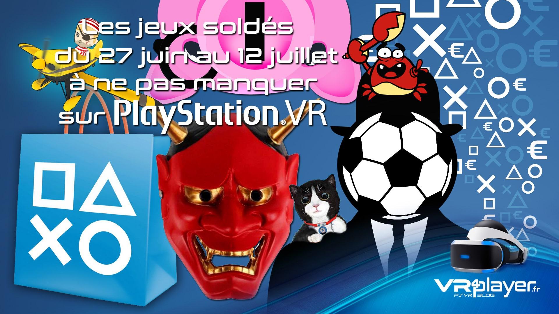 les promotions PSVR du Store en juillet vr4player.fr