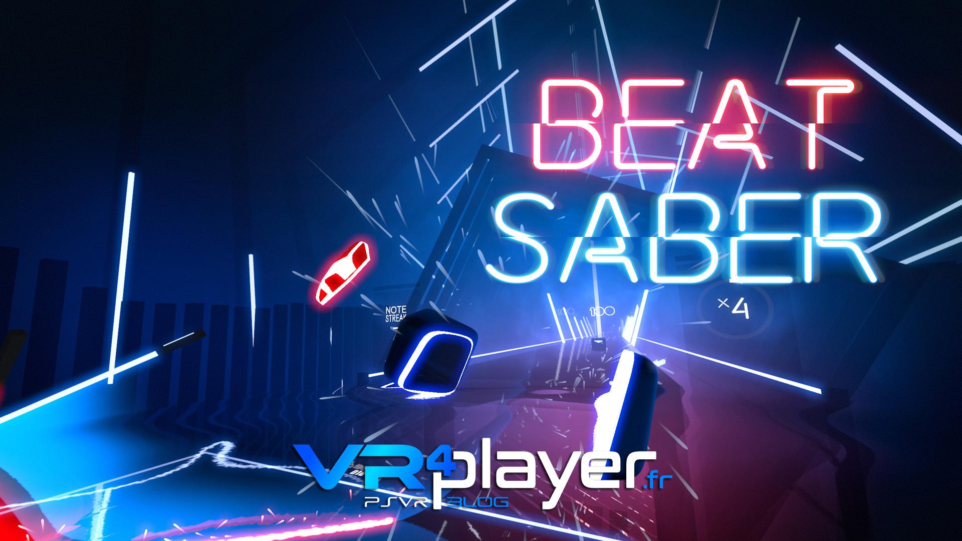 BEAT SABER est le jeu PSVR tant attendu VR4Player.fr