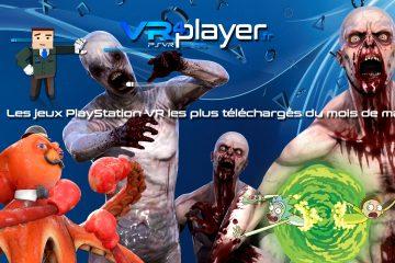 PlayStation VR : le top des ventes du mois de mai sur PSVR
