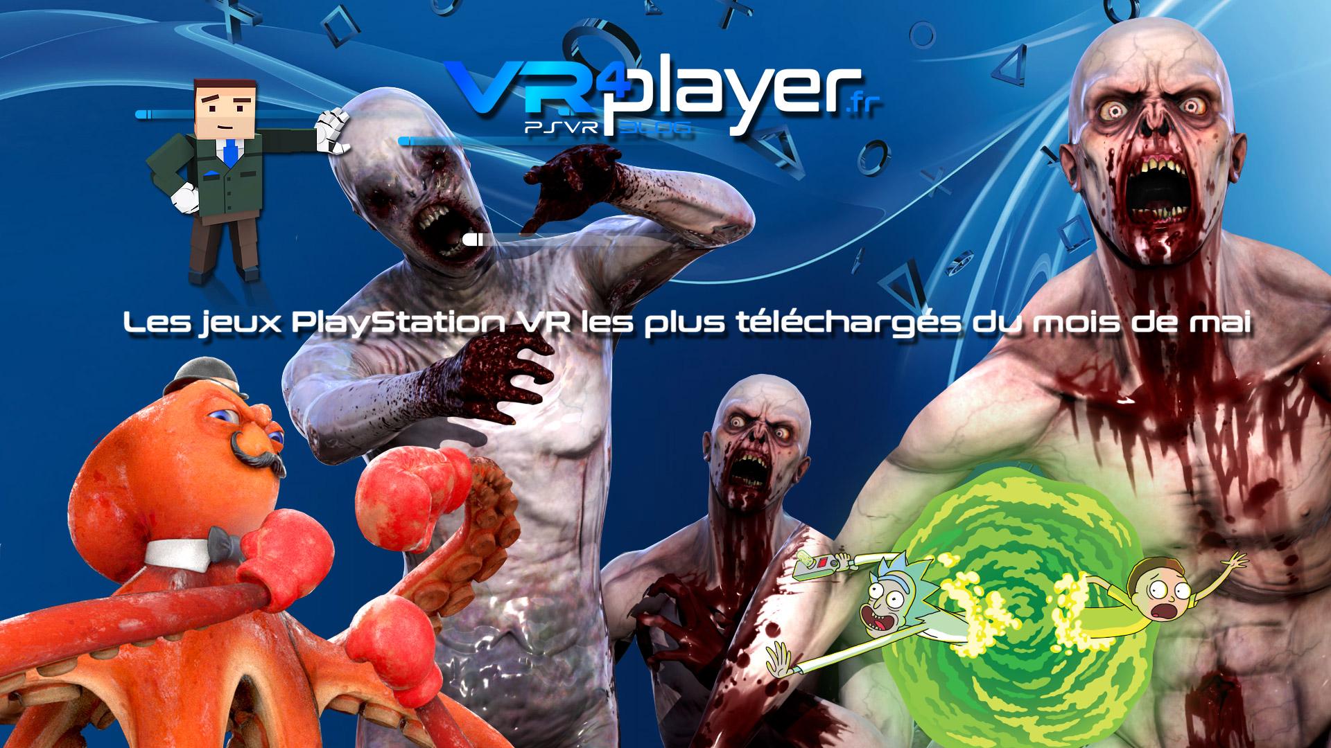 les meilleures ventes de mai du Store PSVR vr4player.fr