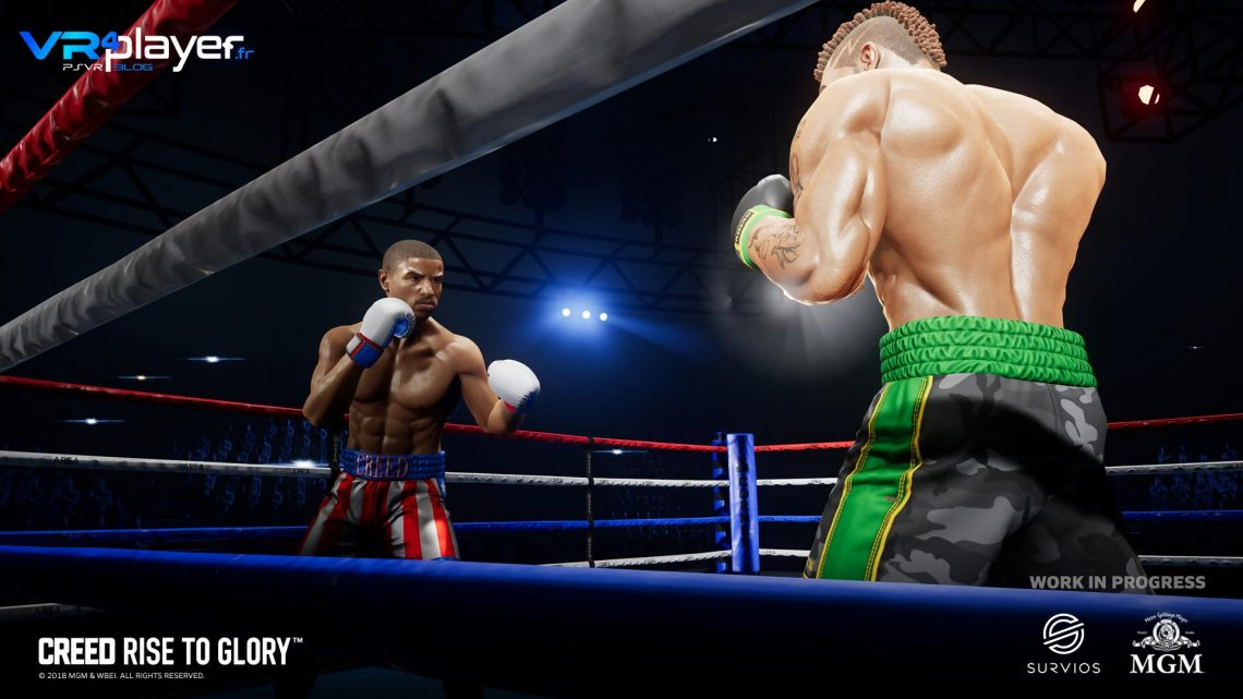 Creed Rise To Glory de Survios jouable à l'E3
