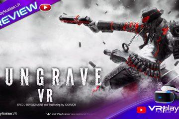 PlayStation VR : Gungrave VR le Test sur PSVR