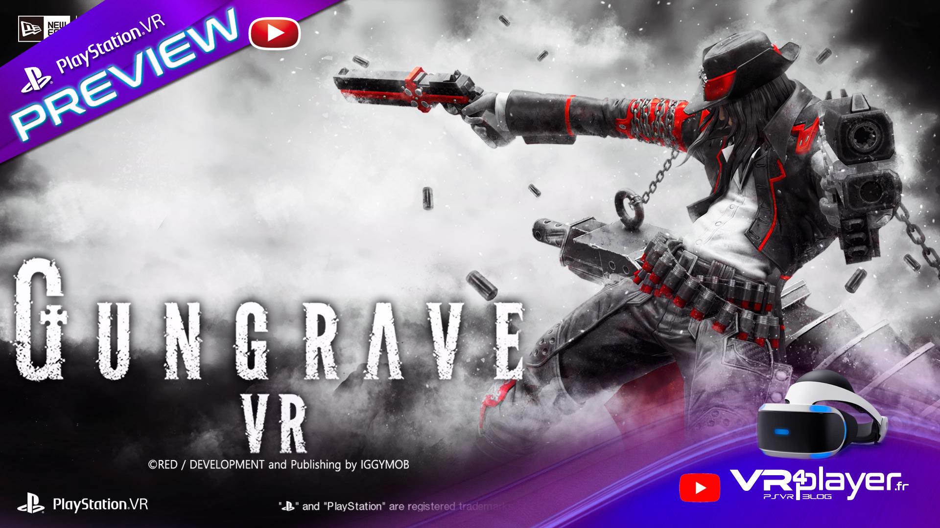 Gungrave VR, le test vr4player.fr sur PSVR