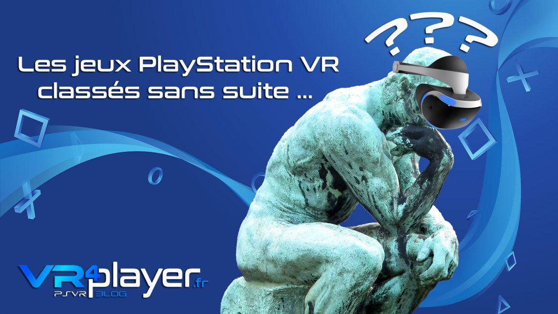 les jeux PSVR sans suite sortis trop tôt vr4player.fr